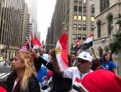 بالفيديو.. الجالية المصرية تتابع خطاب الرئيس من أمام الأمم المتحدة