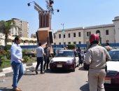 بالصور.. حملة مرورية بالدقهلية لضبط الأسعار والتأكد من عمل سيارات الأجرة
