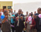 بالصور .. محافظ الإسكندرية يفتتح مبنى جديد بمدرسة ابن انس الرسمية لغات