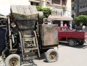 """مركز الزقازيق يتحفظ على """"خلاطة"""" فى الغشام وإزالة 56 حالة تعدٍ فى الحسينية"""