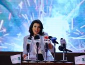"""بالصور.. منى الشاذلى: """"وزير التعليم مايقدرش يطور المنظومة لوحده ولو كان سوبر مان"""""""
