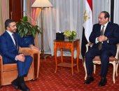 السيسي: المرحلة الراهنة تستلزم مواجهة محاولات التدخل في شئون الدول العربية