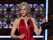 نيكول كيدمان تفوز بجائزة Emmy أفضل ممثلة عن دورها فى Big Little Lies