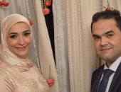 بالصور .. خطوبة الزميل لؤى على صحفى الشأن الدينى على الآنسة ميرام نبيل