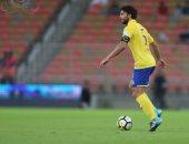 فيديو.. حسام غالي يكتفى بـ46 دقيقة فى هزيمة النصر أمام الفيحاء