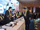 الأكاديمية العربية تحتفل بتخريج دفعة من كلية الدراسات العليا فى الإدارة