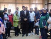 شباب وزارة الآثار فى زيارة تثقيفية  لدار الكتب والوثائق