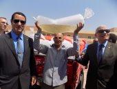 بالفيديو..المحافظة توزع 20 ألف زريعة سمك على مزارع سمكية فى جنوب سيناء