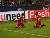 بالفيديو.. جيمس رودريجيز يسجل أول أهدافه مع بايرن ميونخ أمام شالكة