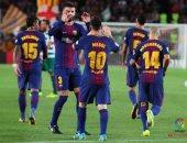 شاهد.. ملخص وأهداف مباراة برشلونة وإيبار 1/6 فى الدوري الإسباني