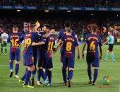 شاهد.. دينيس سواريز يسجل هدف برشلونة الثالث أمام إيبار فى الليجا