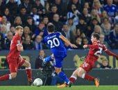 فى غياب صلاح.. ليفربول يخسر أمام ليستر ويودع كأس الرابطة