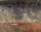 بالصور .. اكتشاف فسيفساء رومانية نادرة تصور حفيد سيزيف فى إنجلترا