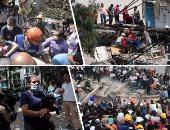 بالصور.. ارتفاع عدد ضحايا زلزال المكسيك لـ 93 قتيلا