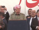 """بارزانى لرئيس وزراء تركيا: """"الكرد"""" لا يخافون أحدا.. ولا يقبلون أى تهديد"""