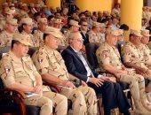 """الفريق حجازى يشهد المرحلة الختامية للتدريبات المصرية الأمريكية """"النجم الساطع"""""""