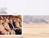 """نائب قائد القوات البرية الأمريكية: نعمل سويا مع مصر لمواجهة أى تحديات.. والقائم بأعمال السفارة الأمريكية: علاقتنا بالقاهرة راسخة على المستوى العسكرى.. ورئيس تدريب القوات المسلحة: نفذنا 4 أنشطة بـ""""النجم الساطع"""""""