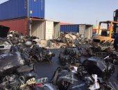 بالصور.. التعسر يواجه الإفراج عن حاويات قطع غيار السيارات بجمارك بورسعيد