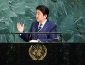 بالصور.. رئيس حكومة اليابان: كل الخيارات على الطاولة بشأن كوريا الشمالية