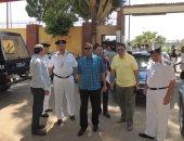 بالصور.. جولات لمدير أمن الأقصر لمتابعة استعدادات القوات لخدمة المواطنين