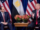 ترامب يهنئ السيسى بذكرى ثورة يوليو.. ويؤكد سعى واشنطن لتعميق الشراكة