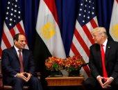 البيت الأبيض: ترامب يشيد بجهود السيسي فى استقرار الشرق الأوسط