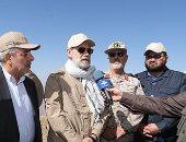زيارة على لاريجانى الحدود مع كردستان العراق بالزى العسكرى تثير  الجدل