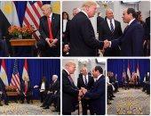 ترامب يؤكد للسيسى أهمية تعزيز توافق الرؤى لدفع العلاقات بين البلدين