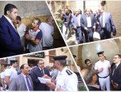 أعضاء البرلمان فى زيارة لقسم شرطة روض الفرج و الشرابية و عين شمس