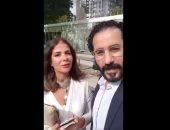 أحمد حلمى ومنى زكى فى الأمم المتحدة كسفراء للنوايا الحسنة