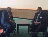 بالصور.. جلسة محادثات بين وزيرى خارجية مصر والسودان بالأمم المتحدة