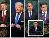 """بالصور.. سباق """"الكرفتات"""" تحت قبة الأمم المتحدة"""