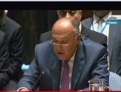 ننشر نص كلمة سامح شكرى فى اجتماع مجلس الأمن عن عدم انتشار أسلحة الدمار الشامل
