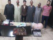 سقوط مسجل خطر يقود عصابة سرقة الشقق بالسلام.. والمتهمون يعترفون بـ7 جرائم