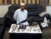 القبض على عاطلين لاتهامهما بحيازة سلاح نارى بمدينة بدر