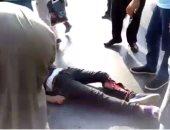 بالفيديو.. إصابة 3 أشخاص فى حادث مرورى بشارع التسعين الشمالى بالتجمع