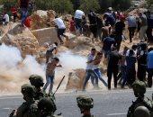 قوات الاحتلال تقمع وقفة سلمية أمام الحرم الإبراهيمى بمدينة بالخليل