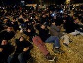 بالصور.. تظاهرات للمزارعين بباريس احتجاجا على حظر استخدام منتجات الصحة النباتية