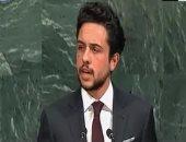 ولى العهد الأردنى: تكلفة الأزمة السورية تستنزف أكثر من ربع موازنة بلادنا