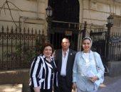 مارجريت عازر ومايسة عطوة تتقدمان على مقعد المرأة بالمكتب السياسى لدعم مصر