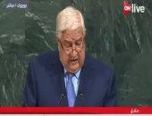 """وليد المعلم: الحرب على الإرهاب فى سوريا بدون موافقة الحكومة """"عدوان"""""""