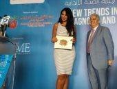 بالفيديو.. الإعلامية سالى عبد السلام لمريضات السرطان: أنتن محاربات