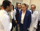 بالصور.. وزير الصحة يتفقد إنشاءات مستشفى إسنا المركزى بتكلفة 301 ملايين جنيه