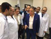 بالصور.. وزير الصحة يتفقد أعمال الإنشاءات لمستشفى العديسات بالأقصر