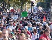بالصور.. تظاهر آلاف الفرنسيين فى باريس ضد قانون العمل