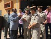 بالصور.. مدير أمن الغربية يتفقد مركز شرطة طنطا ويستمع لشكاوى المواطنين