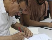 فى رابع أيام ملتقى الخط بالأقصر.. فنانون يقدمون ورشا عن قواعد الكتابة