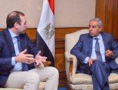 وزير التجارة والصناعة يبحث مع شركة بوش خطط الاستثمار فى السوق المصرية