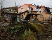 """بالصور.. توقف الحياة فى مدينة """"سان خوان"""" بسبب أضرار إعصار ماريا"""