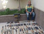 سقوط صاحب ورشة حدادة وراء تصنيع الأسلحة البيضاء بورشة فى البساتين